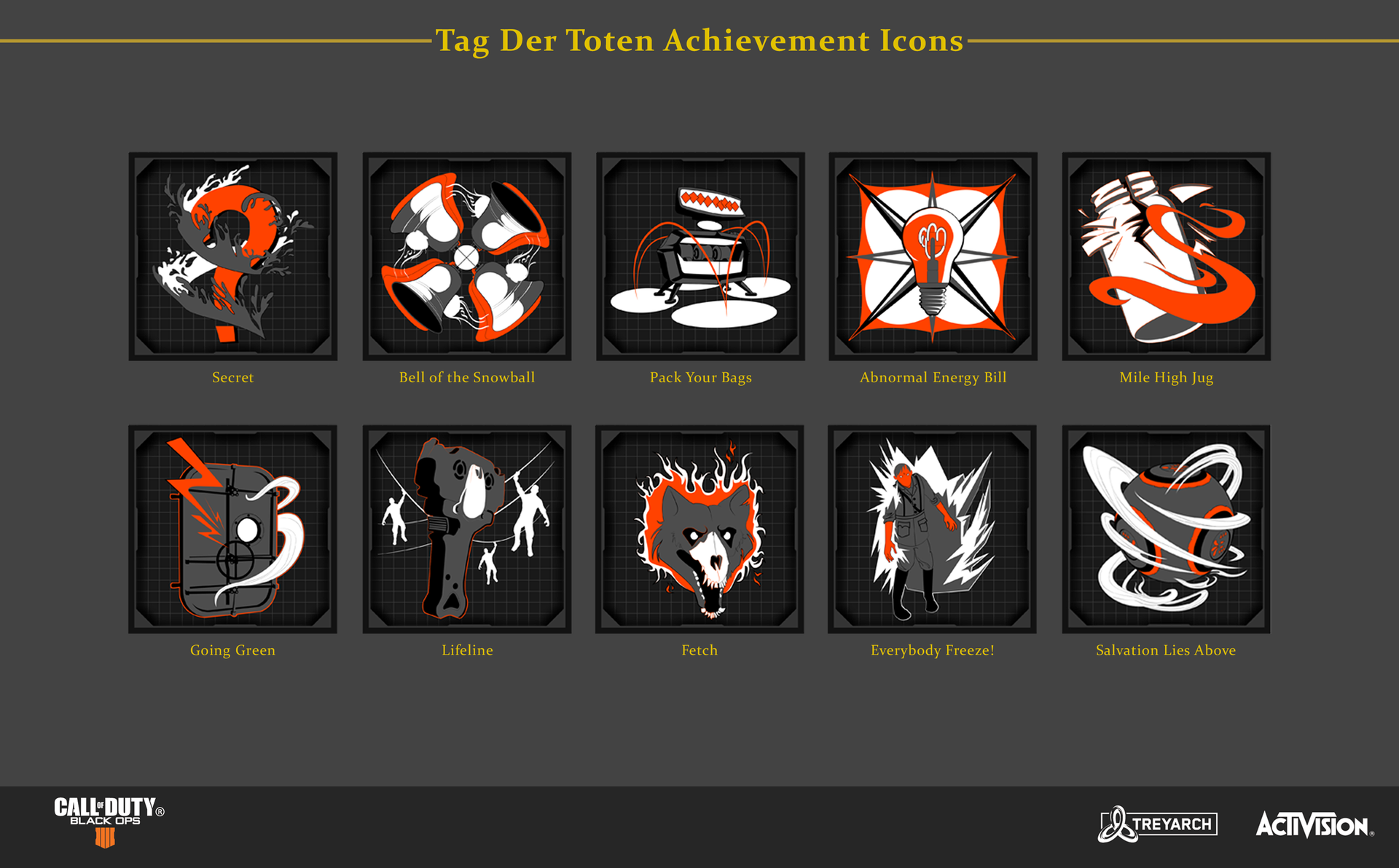 Tag Der Toten Achievement Icons