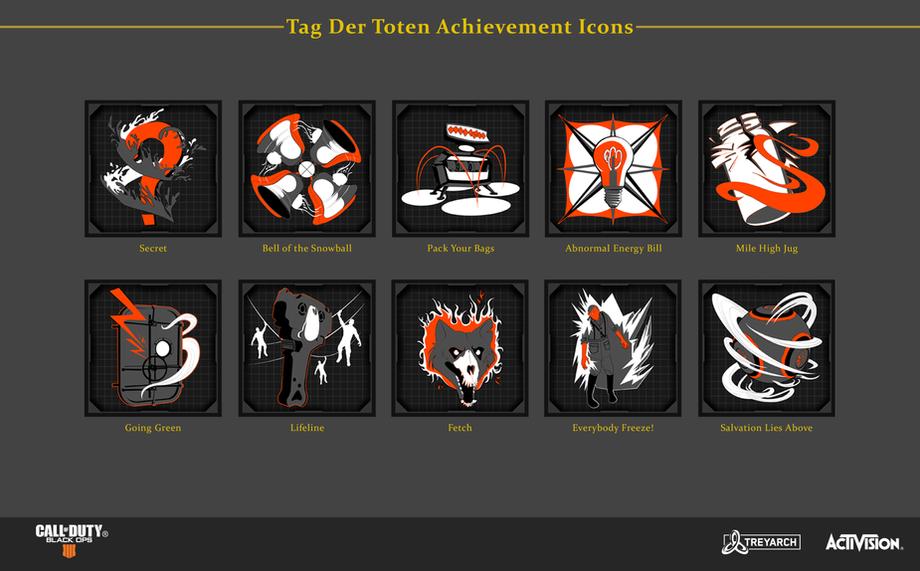 Tag Der Toten Achievement Icons