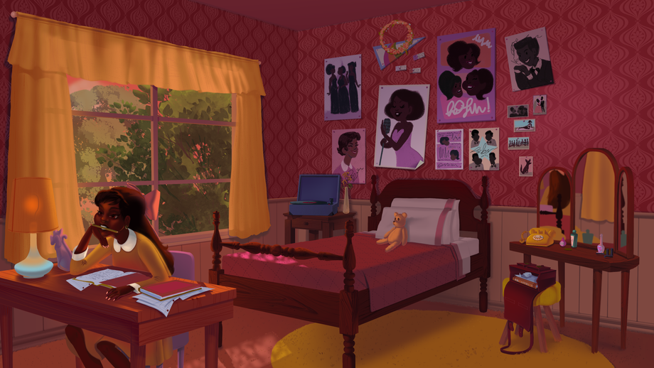 Evening in Dorothy's Room