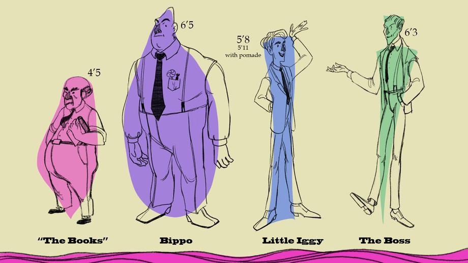 Mobster Lineup