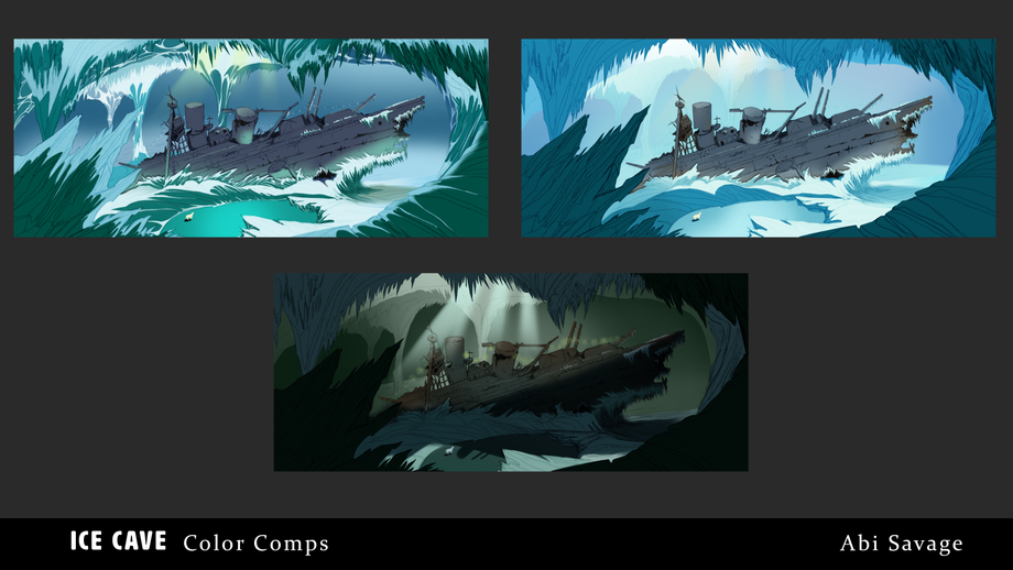 Ice Cave Color Comps
