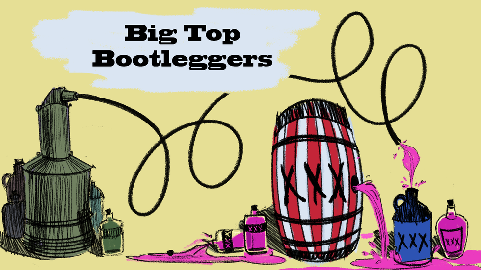 Big Top Bootleggers