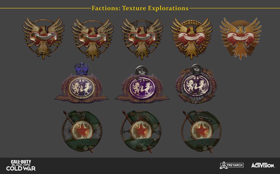 Faction Icon Exploration