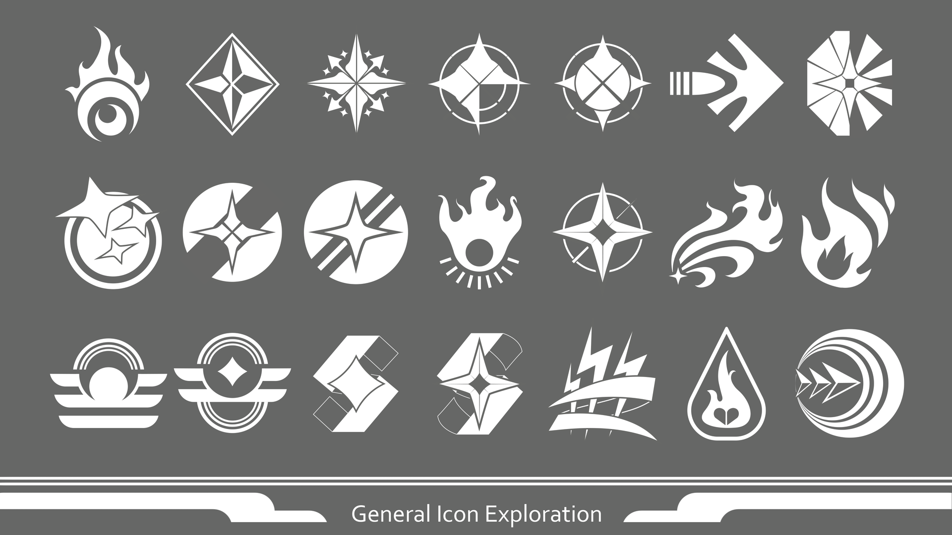 General Icon Exploration