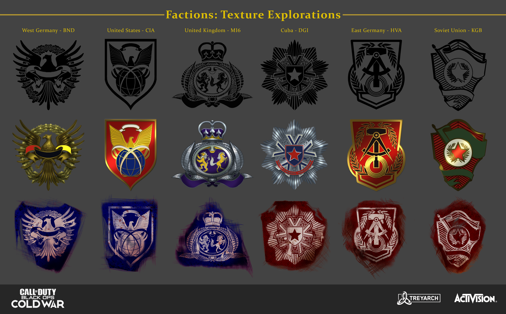 Faction Icon Exploration