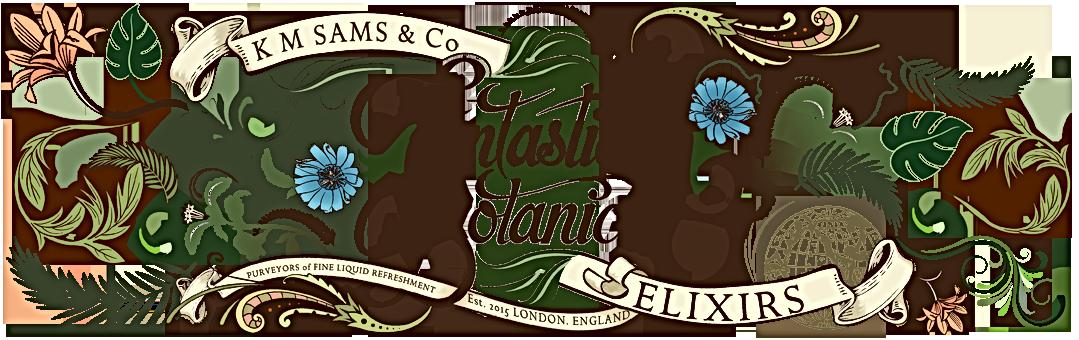 Fantastical Botanical Header Logo