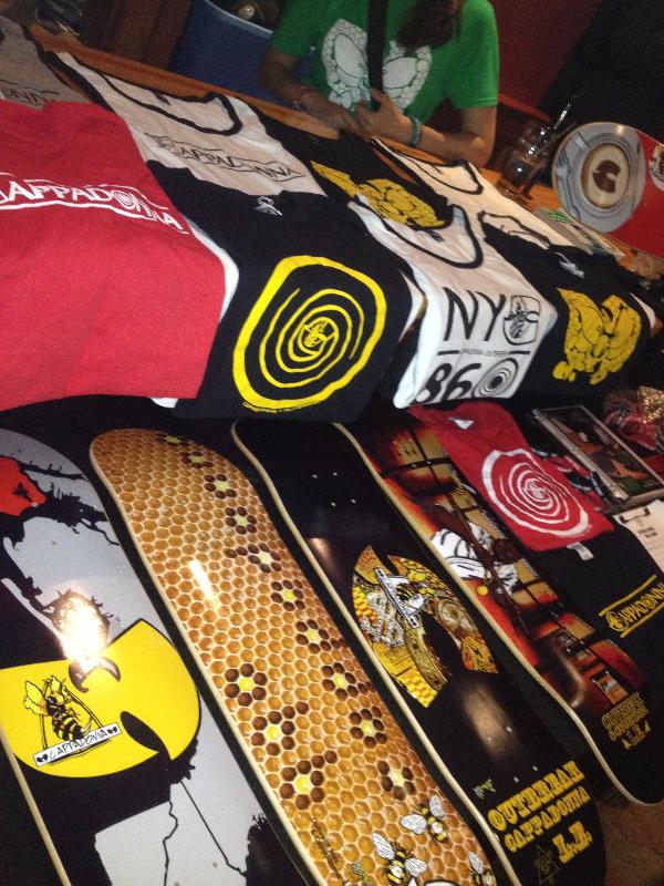Cappadonna Skateboard Release Party