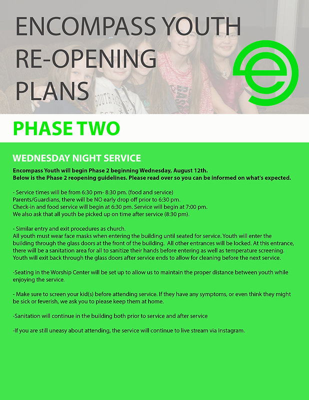 e youth reopening phase 2 sign.jpg