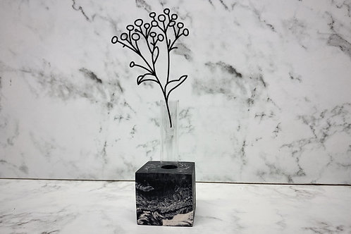 Stekhouder enkel zwart marble