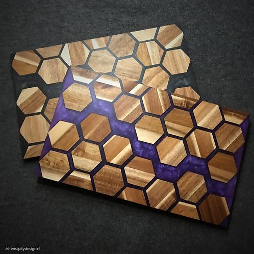 Hexagon dienblad