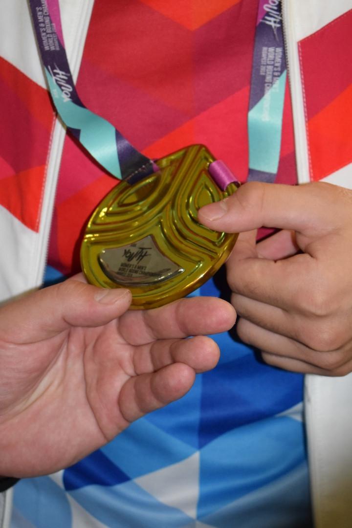 Серебрянная медаль первенства мира по боксу среди юниоров