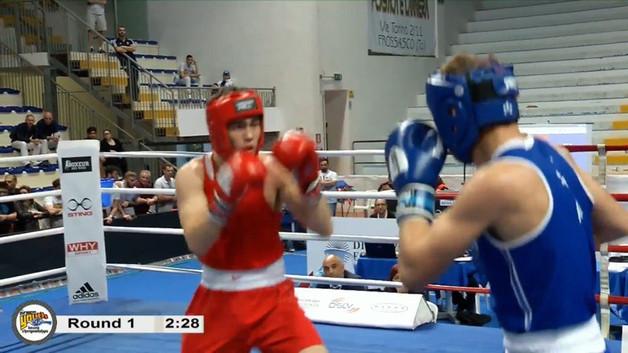 2 место на Первенства Европы по боксу среди юниоров