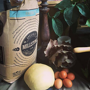Millstone Flour | no additives, stone ground, nutrient rich. Rustic, artisan goodness integral to our Yoli's ethos.