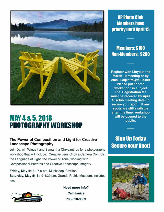 Creative Landscape Workshop : May 4 & 5