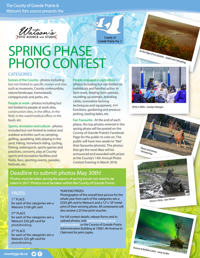 County of Grande Prairie Photo Contest