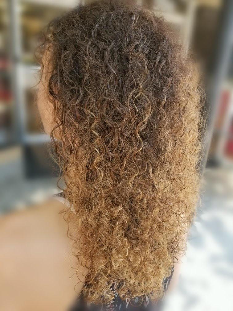 Natural Curly Balayage