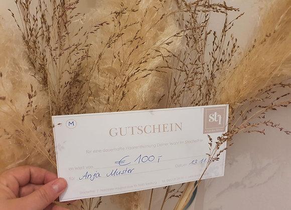 Gutschein Stachelfrei  Wert € 100,-