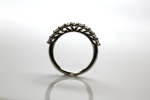 Half Anniversary Ring W/Diamonds