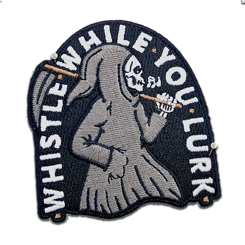 Whistle While You Lurk Grim Reaper Patch