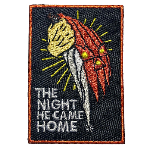 The Night He Came Home - Halloween Patch
