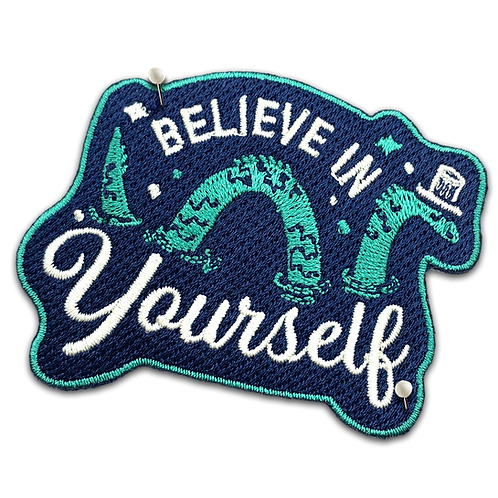Nessie Believe in Yourself Patch