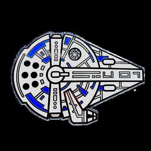 Millennium Falcon Hard Enamel Pin