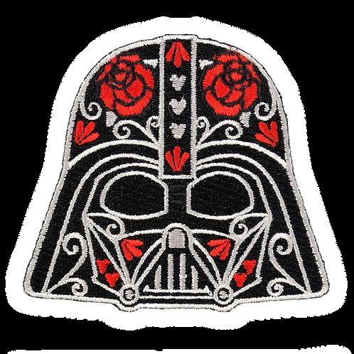 Darth Vader Sugar Skull Patch