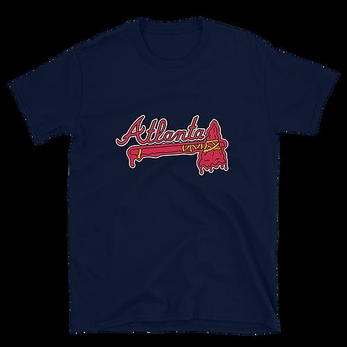 Braves Melting Tomahawk Shirt