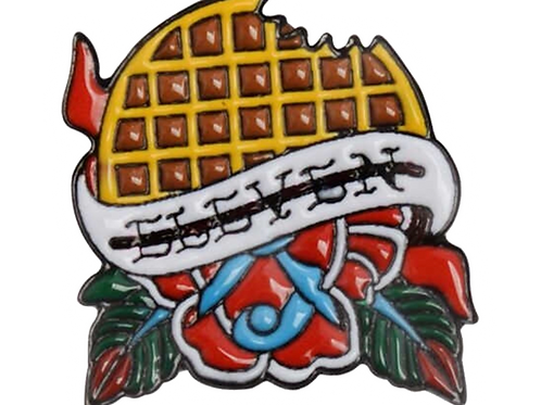 Stranger Things - Eleven Waffle Pin