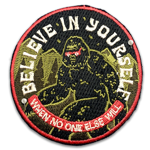 Bigfoot - Believe in Yourself Patch