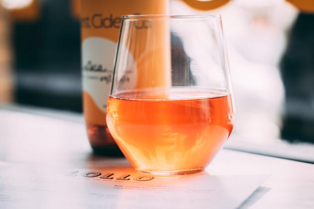 Burst Cider Branding Content Photography