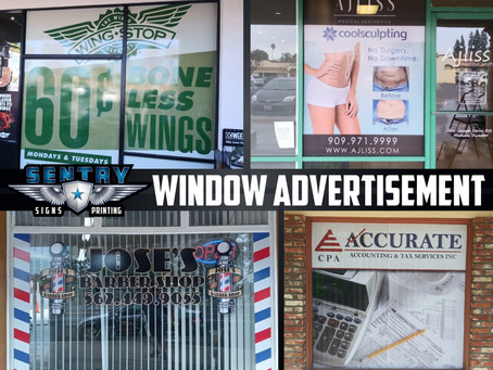 Window Advertisement!!