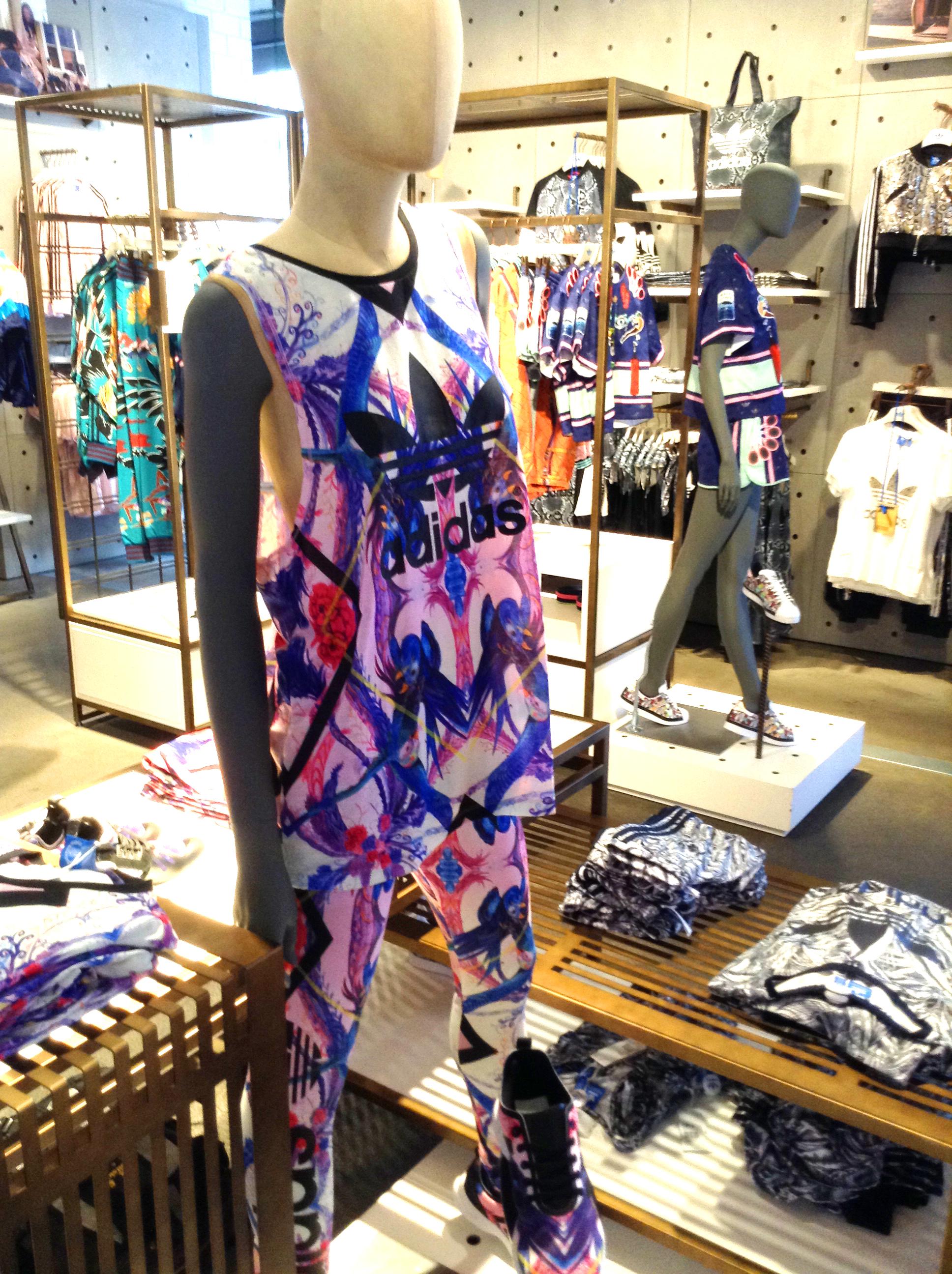 Adidas store display