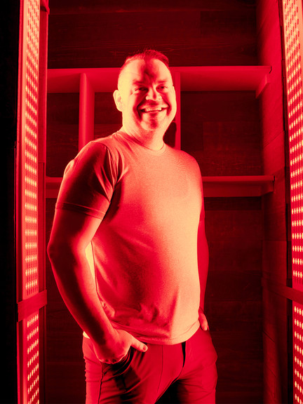 Infrared Room - Red skin light therapy at Restorative Infrared Therapy