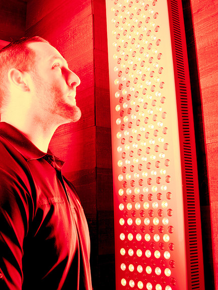 Infrared light treatment at Restorative Infrared Therapy