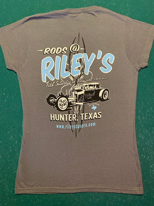 Rods @ Riley's T-Shirt - Womans Tapered Cut