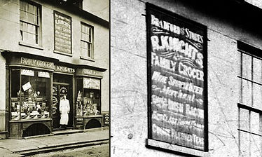 Knights Shop, 61 Bradford St. © Bradford District Museum – Alf Whybrow Collection – the date of 1924 must be wrong it was Knights from about 1905 to about 1915