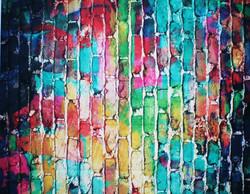 13 Paint Splatter Brick