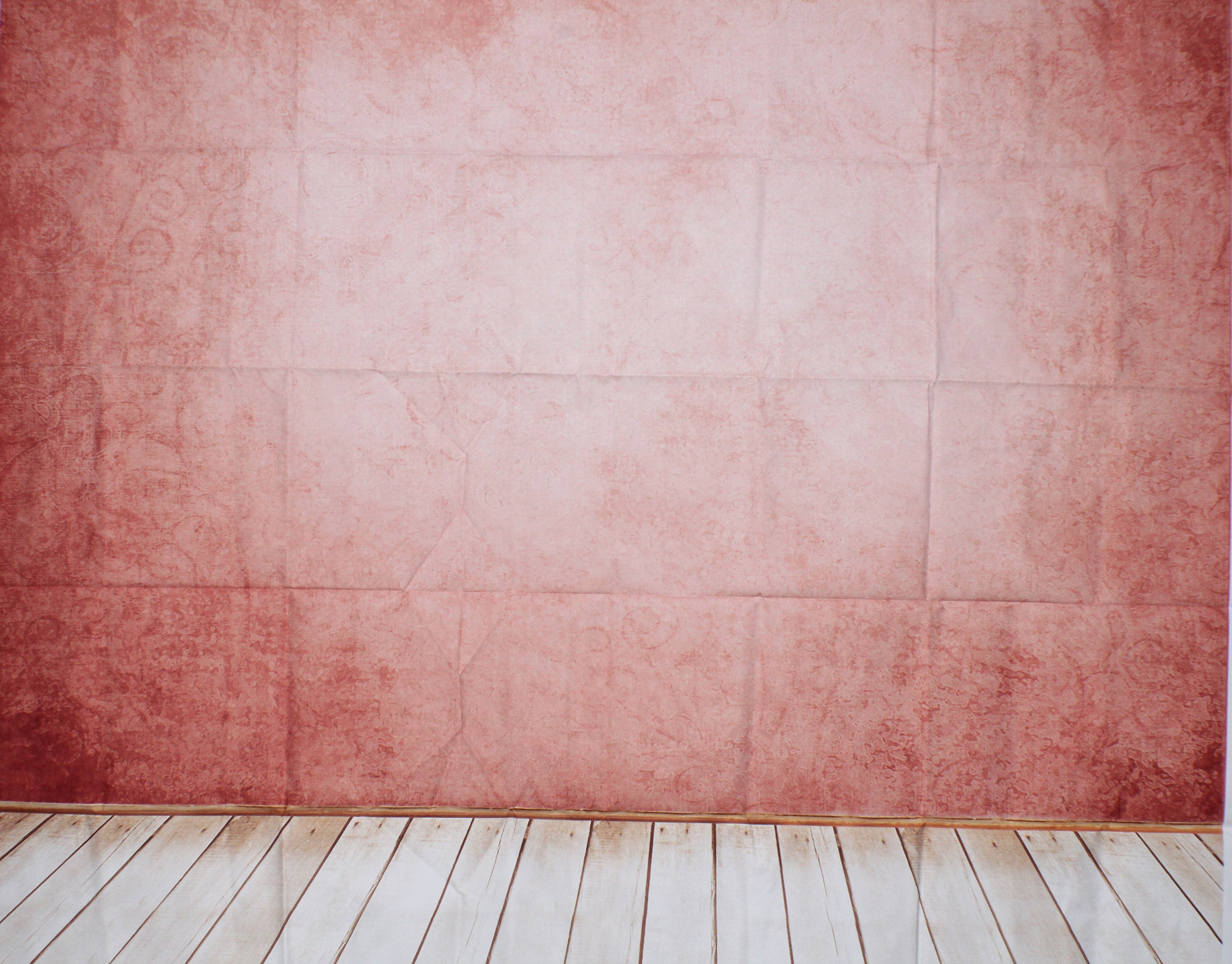 6 Pink with wooden planks