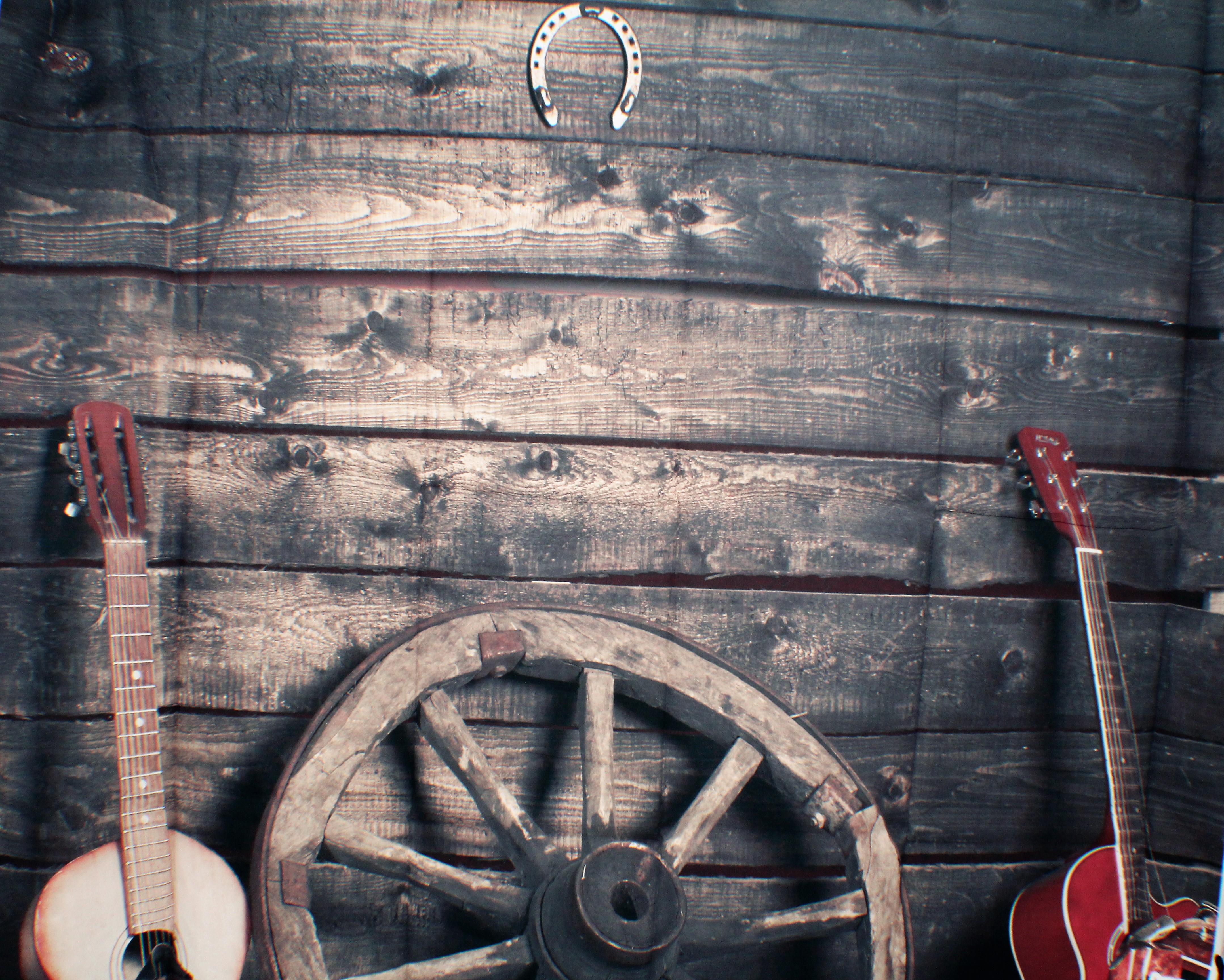 34 Guitars and Wagon Wheel