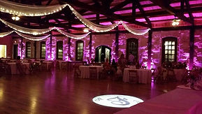 Uplighting @ The Springs of Angleton  - Sycamore Hall