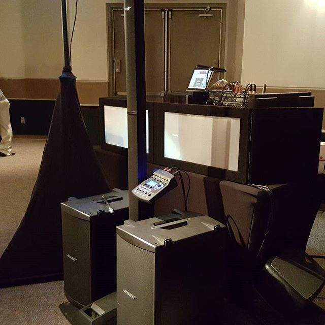 DarKer Side DJ'S  DJ booth with Dance floor lighting,karaoke and BOSE speaker system!!!