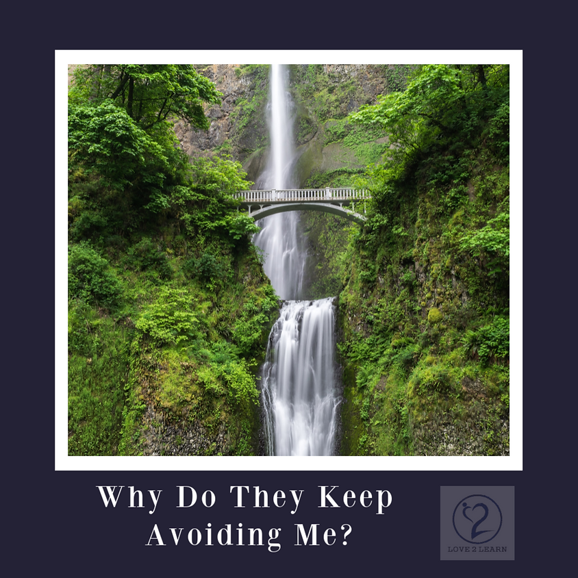 Speaker Series | Why Do They Keep on Avoiding Me?