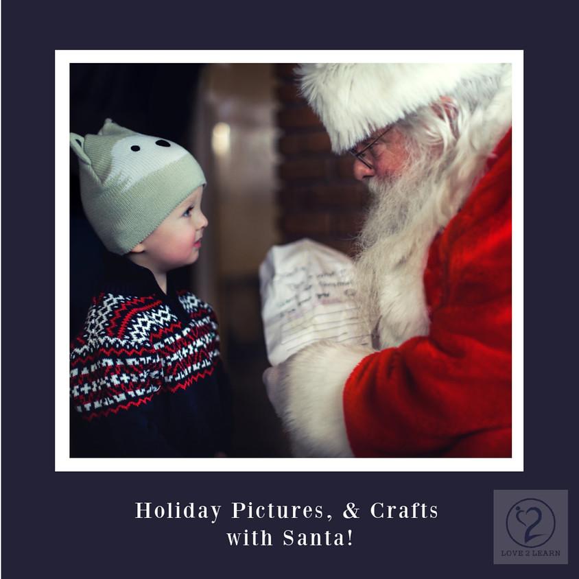 Holiday Craft Fair with Santa!