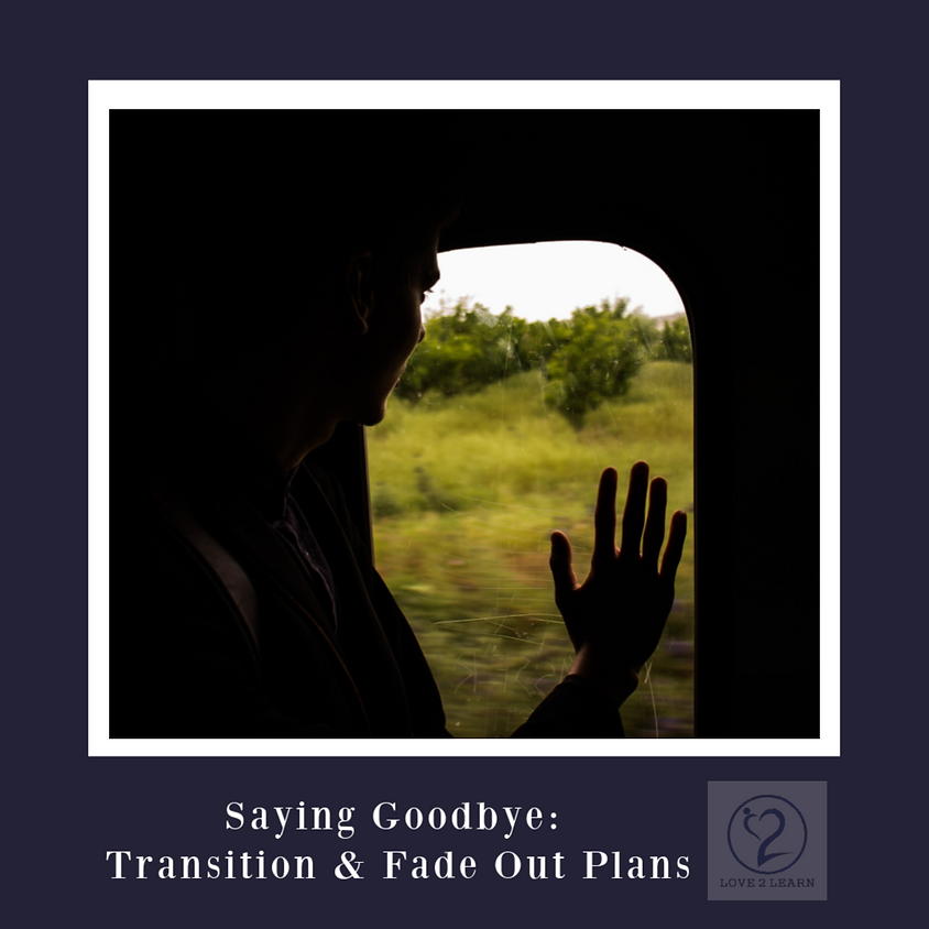 Speaker Series | Saying Goodbye: Transition & Fade Out Plans