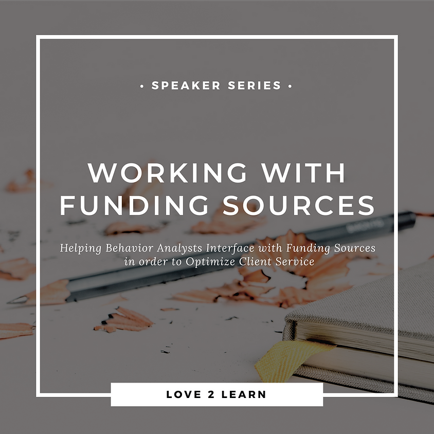 CEU Speaker Series | Working with Funding Sources