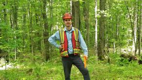 Génie forestier : le parcours de Xavier Noël-Monastesse