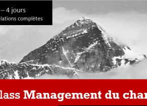 Master Class en Management du changement : octobre 2020