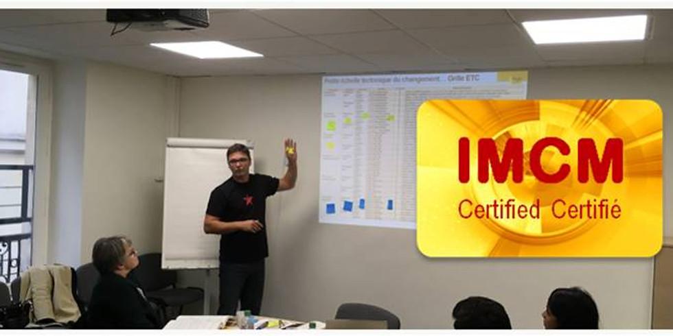 Management du changement : certification IMCM