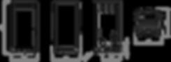 Esquema y medidas de la temoestufa Girolami Furni, estufa policombustible leña y pellet